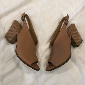 Brand new Lucky Brand Leather Pumps